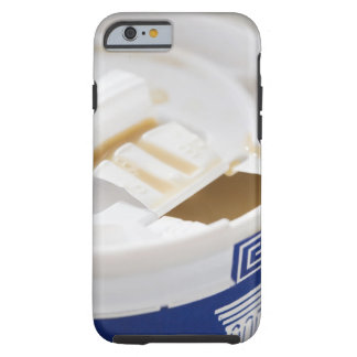 Close up of take out coffee iPhone 6 case