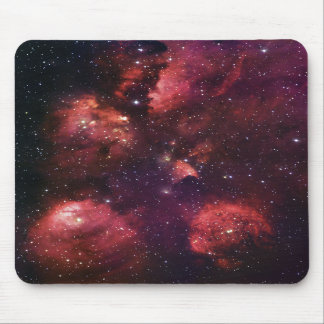 Close Up of the Cat's Paw Nebula NGC 6334 Gum 64 Mouse Pads