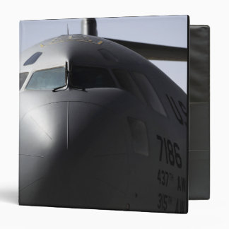 Close-up of the front of a C-17 Globemaster III 3 Ring Binder