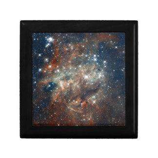 Close-up of the Tarantula Nebula Keepsake Box