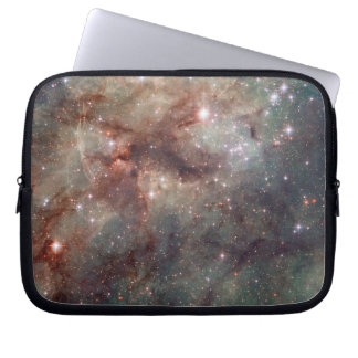 Close-up of the Tarantula Nebula Laptop Sleeve