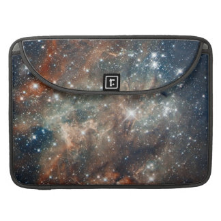 Close-up of the Tarantula Nebula Sleeves For MacBook Pro