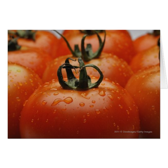 Close-up of tomatoes 2 card