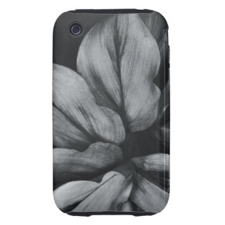 Close-up of tropical plant tough iPhone 3 covers