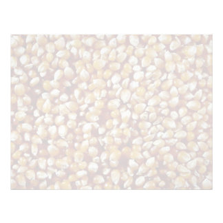Close-up of unpopped popcorn kernels texture customized letterhead