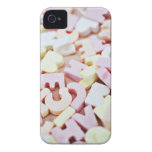 Close up of vibrant candy alphabet iPhone 4 Case-Mate case