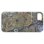 Close up of Vietnamese coins iPhone SE/5/5s Case