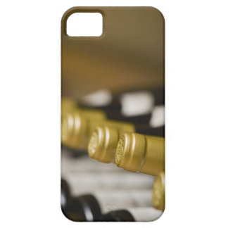 Close up of wine bottle tops iPhone SE/5/5s case