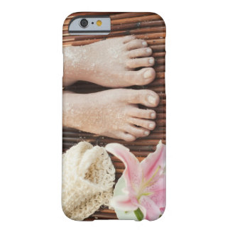 Close-up of womans feet having spa treatment barely there iPhone 6 case