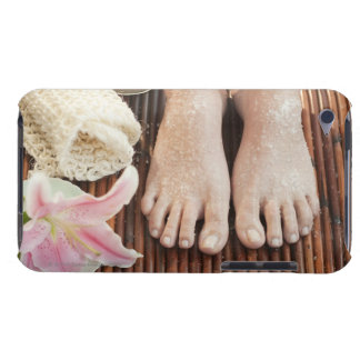 Close-up of womans feet having spa treatment barely there iPod cases
