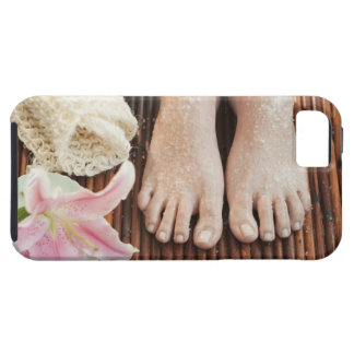 Close-up of womans feet having spa treatment iPhone SE/5/5s case