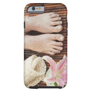 Close-up of womans feet having spa treatment tough iPhone 6 case