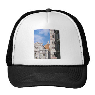 Close up on Florence. Trucker Hat