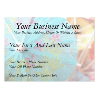 Close Up - Paper Parasol Large Business Cards (Pack Of 100)