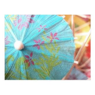 Close Up - Paper Parasol Postcard