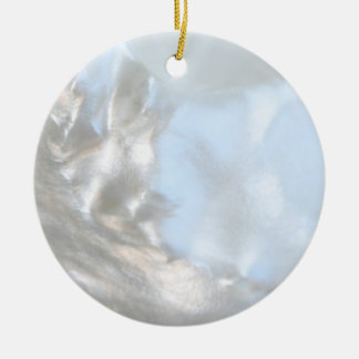 Close up Photo. Picture of a Seashell. Christmas Tree Ornament