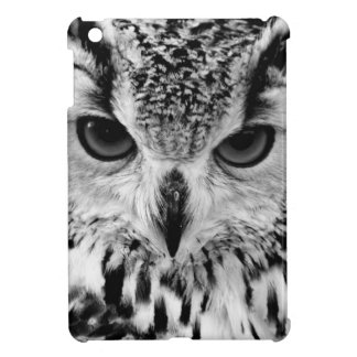 Close Up Portrait Of Eurasian Eagle-owl iPad Mini Cases