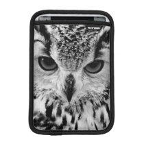 Close Up Portrait Of Eurasian Eagle-owl iPad Mini Sleeve