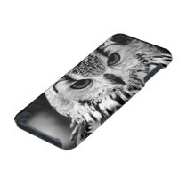 Close Up Portrait Of Eurasian Eagle-owl iPod Touch (5th Generation) Case