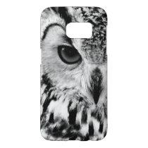 Close Up Portrait Of Eurasian Eagle-owl Samsung Galaxy S7 Case