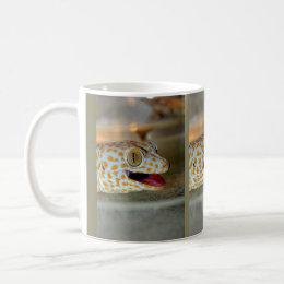 Close up portrait of Tokay gecko in TulaZoo Coffee Mug
