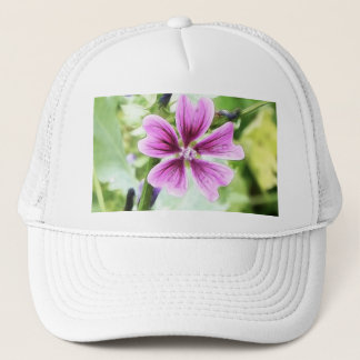 Close Up - Purple Malva Trucker Hat