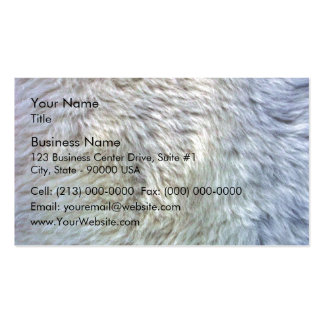 Close up sheepskin texture Double-Sided standard business cards (Pack of 100)
