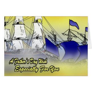 Close Up Ships Card