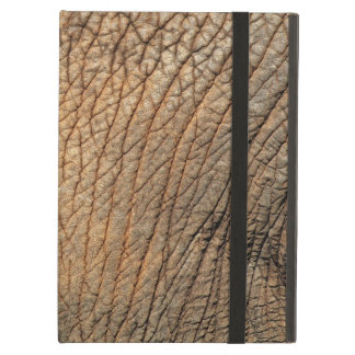 Close-up shot of an Elephant's tough skin iPad Air Case