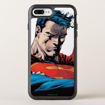 Close up to face OtterBox symmetry iPhone 8 plus/7 plus case