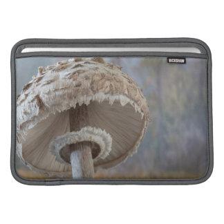 Close-Up Underside Of Mushroom Sleeve For MacBook Air