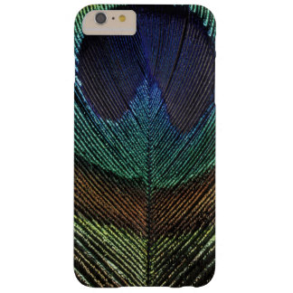 Close up view of eyespot on male peacock feather barely there iPhone 6 plus case