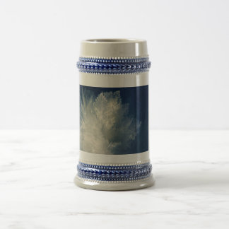 Close Up View of Ice Cold Morning Frost Beer Stein