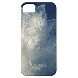 Close Up View of Ice Cold Morning Frost iPhone SE/5/5s Case