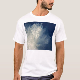 Close Up View of Ice Cold Morning Frost T-Shirt