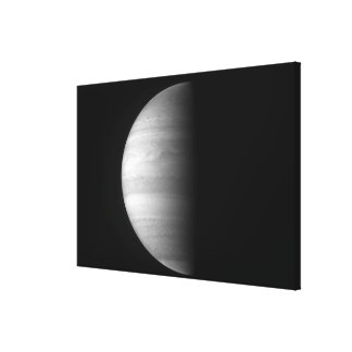 Close-up view of the planet Jupiter Canvas Print