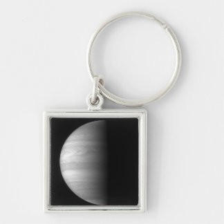 Close-up view of the planet Jupiter Keychain
