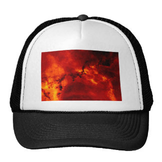 Close Up View of the Rosette Nebula Caldwell 49 Trucker Hat