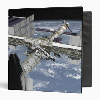 Close up view of the Shuttle docked 3 Ring Binder