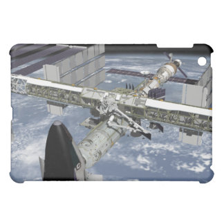 Close up view of the Shuttle docked iPad Mini Cover