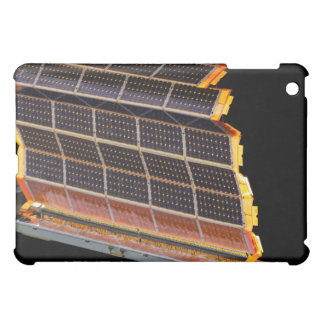 Close-up view of the solar arrays cover for the iPad mini
