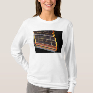 Close-up view of the solar arrays T-Shirt