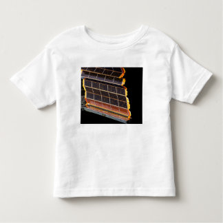Close-up view of the solar arrays toddler t-shirt