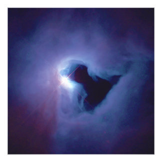 Close-up View Reflection Nebula in Orion NGC 1999 Photo Print