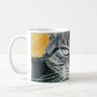 Close-up Zoe Cat Drawing Mug