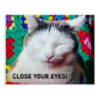 Close your eyes! poster