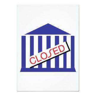 Closed 5x7 Paper Invitation Card