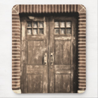 Closed Door Mouse Pad