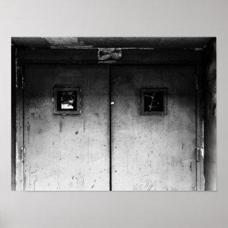 Closed Door Poster