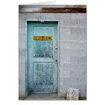 Closed Doors Card